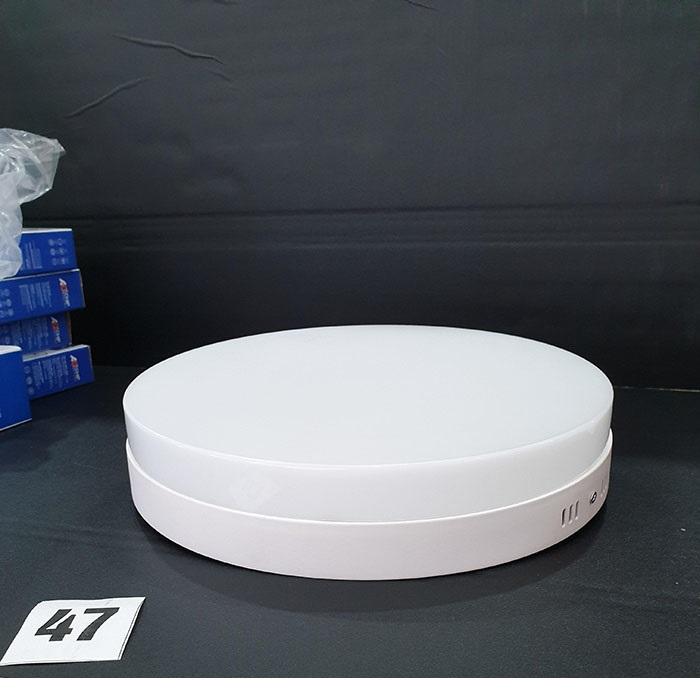 Đèn LED PANEL ốp trần viền trắng tròn( chóa nổi) 16W