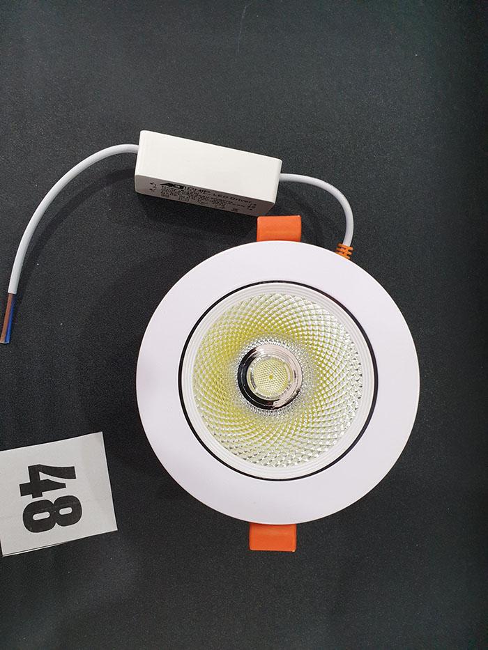Đèn Led Cob Down Lamp Âm trần màu trắng 6W